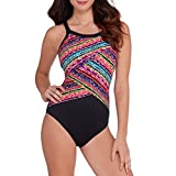 Miraclesuit Womens Slimming Adjustable Straps One-Piece Swimsuit