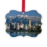 CafePress - View Of Vancouver, Canada - - Christmas Ornament, Decorative Tree Ornament