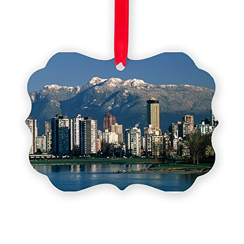 CafePress - View Of Vancouver, Canada - - Christmas Ornament, Decorative Tree Ornament by CafePress