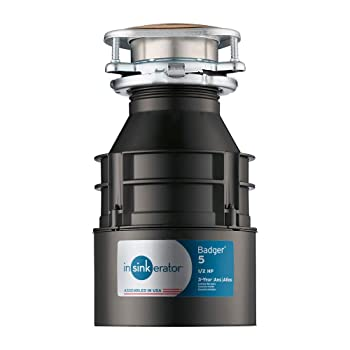InSinkErator 1/2 HP Continuous Feed Garbage Disposal