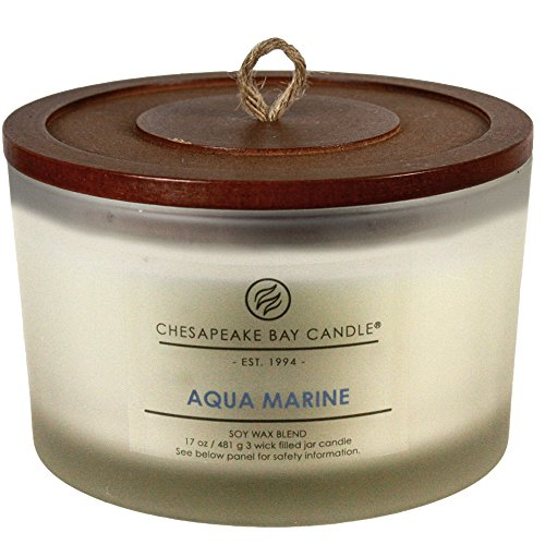 Chesapeake Bay Candle Heritage Coffee Table Scented Candle, Aqua (Heritage Collection Cocktail Table)