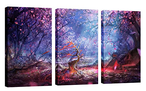 FASKUNOIE Cherry Blossom Artwork Paintings Decoration product image