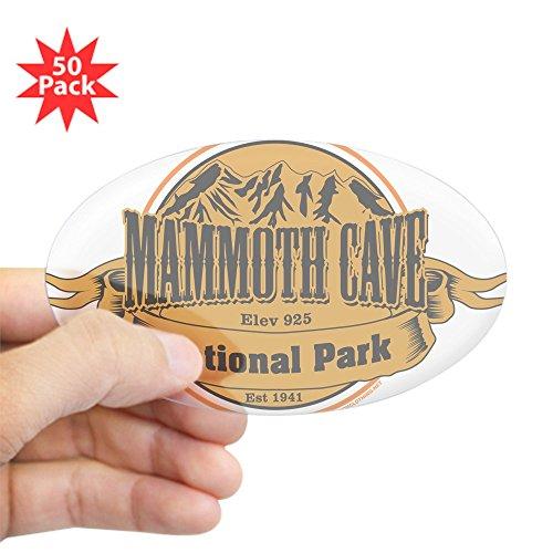 CafePress - Mammoth Cave, Kentucky Sticker - Sticker (Oval 50 pk)