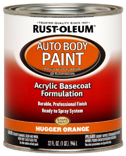orange automotive paint - 5
