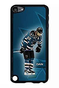 Ipod Touch 5th Generation Case, DunnDoCase Dan Boyle New York Rangers Sports Design Hard Case Cover for Ipod Touch 5th