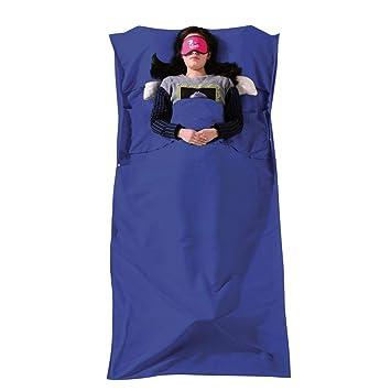 Sabarry Saco de Dormir Saco de Dormir Verano Viaje Saco de Dormir Hostel Saco de Dormir, Color Azul, tamaño Talla única, 1.32: Amazon.es: Jardín