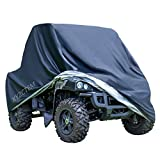 XYZCTEM Black UTV Cover with Heavy Duty 210D Oxford Waterproof Material, 114.17