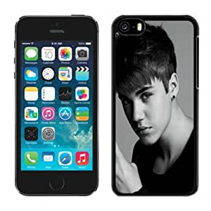Customized Phone Case Design with Justin Bieber Gesture Hand BW iPhone 5C Wallpaper