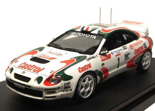 1/43 トヨタ セリカ GT-Four 1995 ツールドコルス Castrol #1(ホワイト×レッド×グリーン) 「MIRAGE ミラージュシリーズ」 8307