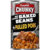 Campbell's Chunky Baked Beans, BBQ Flavored + Pulled Pork, 20.5 Ounce (Pack of 12)