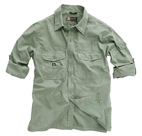 Kakadu Australia Mens Outdoor Safari Shirt Concord -