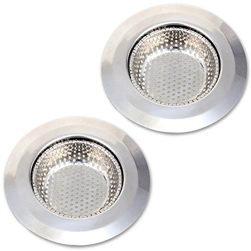 2PCS Kitchen Sink Filter 201 Stainless Steel Microporous ...
