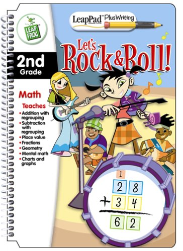 LeapPad Plus Writing 2nd Grade Math Book: Meet the Band! The -