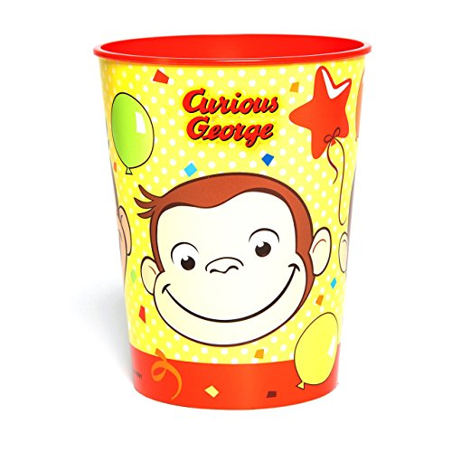 Curious George 16 oz Plastic Stadium Cup Birthday Party Supplies]()