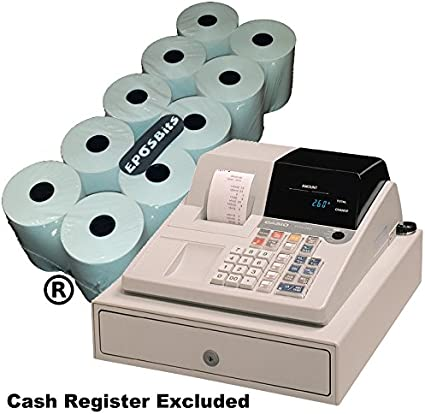 eposbits® marca 10 rollos – para Casio pcr260 PCR 260 pcr-260 caja ...
