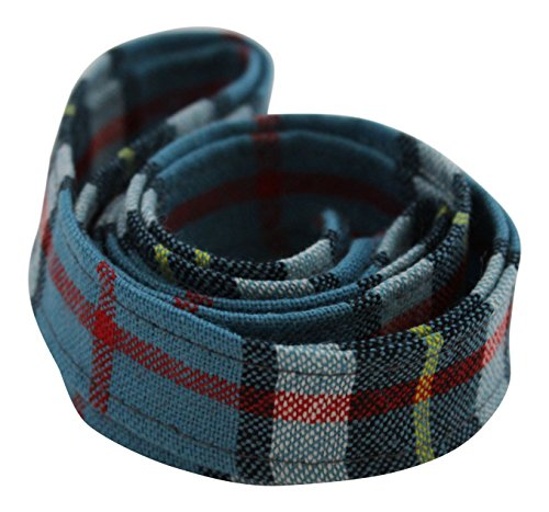 KWH 100% Pure Wool Traditional Tartan Ribbon - 1 Inch x 54 Inches - Anderson
