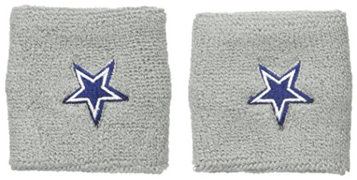 NFL Dallas Cowboys Wristbands, Silver, One - Wristband Specialty