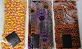 75 Halloween Treat Bags with Twist Ties - Cellophane Bags