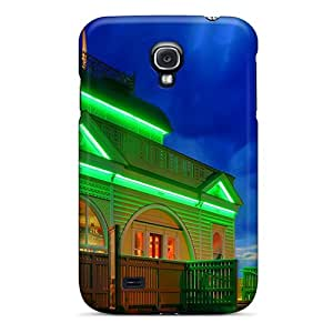 Tpu Shockproof/dirt-proof Flourescent Cover Case For Galaxy(s4)