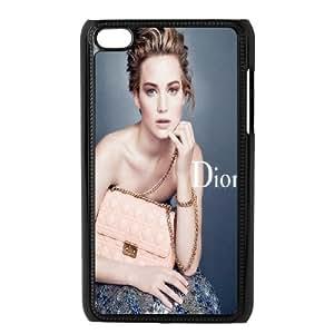 Ipod Touch 4 Phone Case International Raw Jennifer Lawrence Designed Q1WG500827
