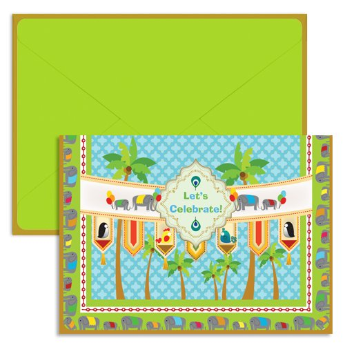 UFF Singles Tiles Celebration Card (1 Folded Note Card + 1 Envelope + 1 Sticker)