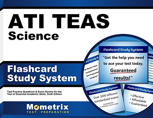ATI TEAS Science Flashcard Study System: TEAS 6 Test Practice Questions & Exam Review for the Test of Essential Academic Skills, Sixth Edition (Cards) (Secrets Of The Teas V Exam By Mometrix)