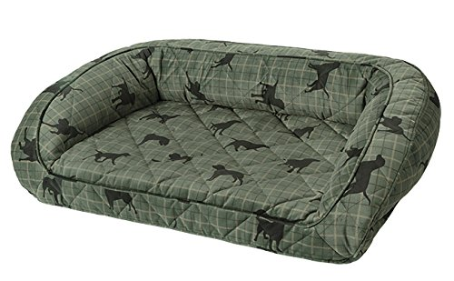 Orvis Bolster Dog Bed Cover / X-large, Lab Plaid, by Orvis