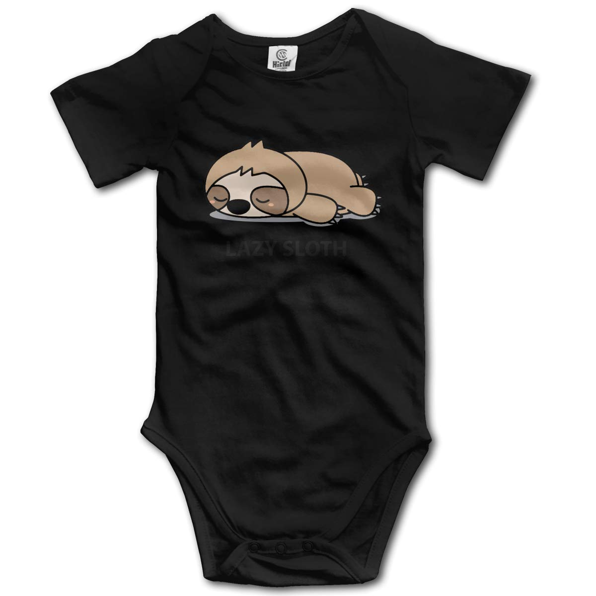 J122 Lazy Sloth Suit 6-24 Months Short Sleeve Climbing Clothes