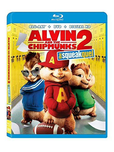 Alvin And The Chipmunks: The Squeakquel Blu-ray Triple Play
