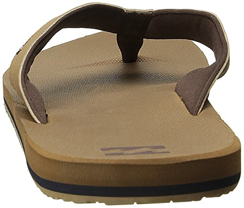 Billabong Mens All Day Impact Supreme Cushion EVA Footbed Sandal Flip Flop Camel Cwc5awa