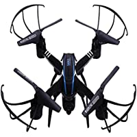 Owill SKRIC SKD20W WiFi FPV 2MP Camera 2.4GHz 4 Channel 6 Axis Gyro Quadcopter 3D Rollover Real Time Transfer Helicopter (Black)