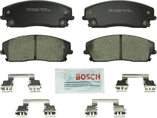 Bosch BC1056 QuietCast Premium Ceramic Disc Brake Pad Set For: Chrysler 300; Dodge Challenger, Charger, Magnum, Front