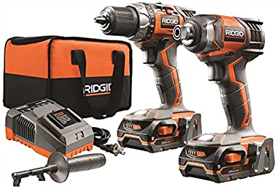 RIDGID TOOL COMPANY GIDDS2-3554587 18V Drill And Impact Driver Kit
