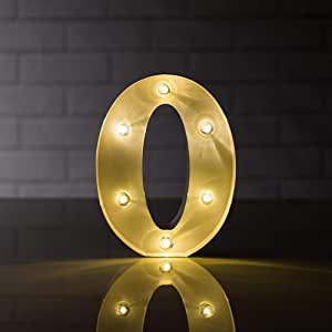 Details about  /LED Metal Number Lights Free Standing Hanging Marquee Event Party D?cor Number 7