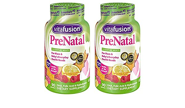 Amazon.com: IUYEHDUH Prenatal, Gummy Vitamins, 90 Count (Packaging May Vary) 2 Pack: Health & Personal Care