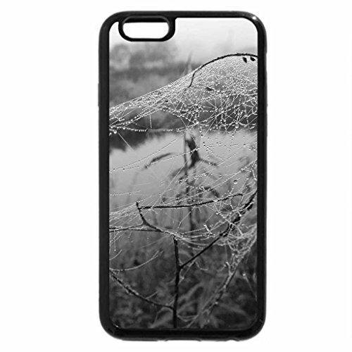 iPhone 6S Plus Case, iPhone 6 Plus Case (Black & White) - Autumn.