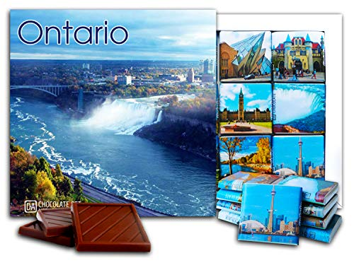 DA CHOCOLATE Candy Souvenir ONTARIO Chocolate Gift Set 5x5in 1 box (Waterfall)(2864)