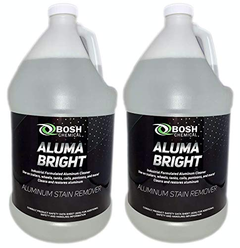 Bosh Chemical Alumabright Aluminum Cleaner & Brightener & Restorer (2