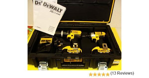 Dewalt - Dck285 m2 18 v xr li-ion combi taladro + atornillador de impacto (2 x ah pilas) – rígida maletín: Amazon.es: Bricolaje y herramientas