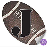 Wall Letters Football Letter Stickers Alphabet Initial...