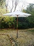 Cheap MJJ Sales, 6.5′ x 6.5′ Square Wood Market Umbrella – Natural