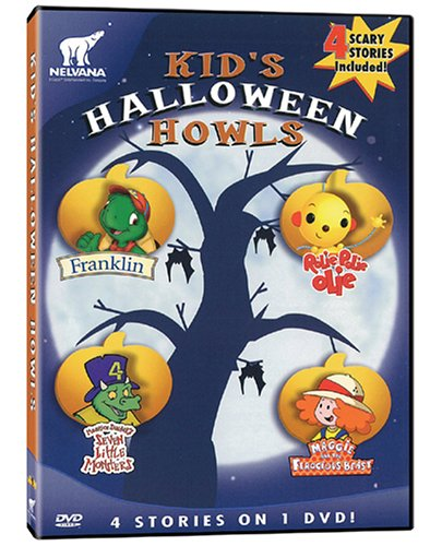 Kid's Halloween Howls: Franklin / Maggie and the Ferocious Beast / Rolie Polie Olie / Seven Little Monsters -