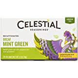 Celestial Seasonings Decaf Mint Green Tea, 20 Count (Pack of 6)