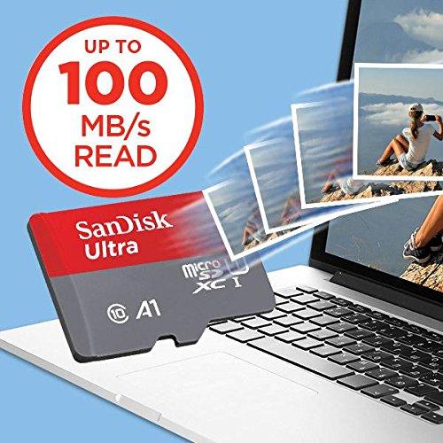 Multi Pack 2/x sdsquar-032g-gn6ma SanDisk 2/x 32/GB Ultra A1/Carte Micro SDHC avec Adaptateur SD 98/MBS