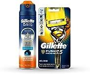 Gillette Proshield máquina de afeitar + gel