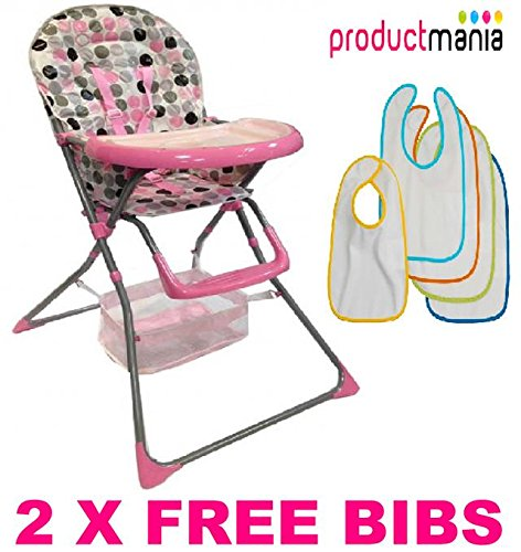 BRAND NEW BABY HIGH CHAIRS FOLDABLE HIGHCHAIR FEEDING TOP QUALITY 2014 MODEL (BLUE) Product Mania