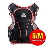POJNGSN Hydration Pack Backpack Rucksack Bag Vest Harness Water Bladder Hiking Camping Running Race Sports 5L SM