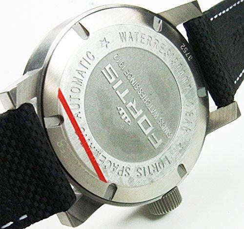 Fortis Cosmonautis SPACEMATIC STEEL 40mm Automatic Swiss ETA watch 623.10.18