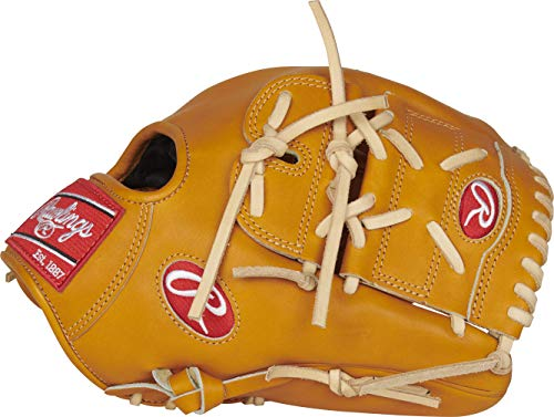 Rawlings Heart of The Hide Baseball Glove, 12 inch, 2-Piece Solid Web, Right Hand Throw