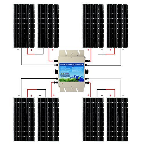 Best Solar Panel Kits Eco-Worthy 1200W